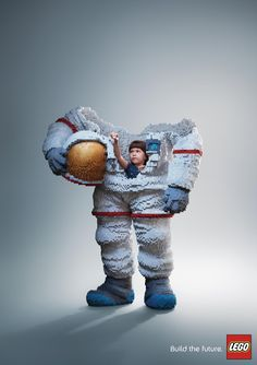 """Lego """"Build the future"""" – 2017  Cannes Lions SILVER  Agency : Ogilvy (Thailand)"""