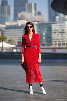 London Fashion Week: The Best On The Street Style Scene - HarpersBAZAAR.com