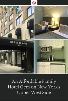 Review and Highlights of Hotel Beacon, New York City with Kids