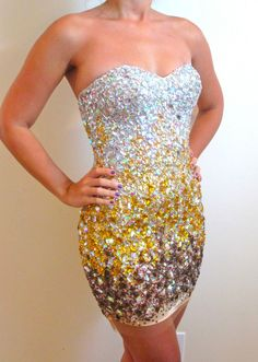 NEW JOVANI 171480 GOLD Short Dress Formal Pageant Homecoming Prom Sizes 6 10