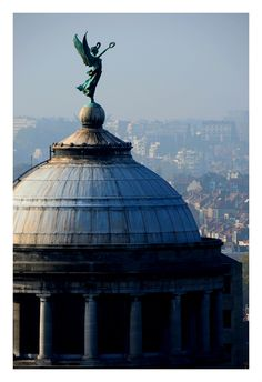 The Victory above the city, Arts and History Museum, Brussels, by maxifred