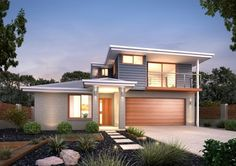 GJ Gardner Home Designs: Dorado - Facade Option 1. Visit www.localbuilders.com.au/home_builders_western_australia.htm to find your ideal home design in Western Australia