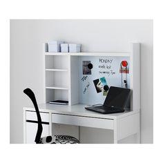 MICKE Add-on unit-high, white white 41 3/8x25 5/8