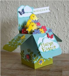 By Эления (Helen). Card in a box.
