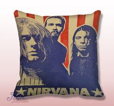 Like and Share if you want this  Nirvana Seattle Grunge Throw Pillow Cover     Nirvana Seattle Grunge Throw Pillow Cover.  Fine quality USA handmade decorative throw pillow cover. Front and back of pillow cover are same. Hidden zipper closure. This pillow cover comes in indoor or outdoor fabric in the size of your choice. Indoor Throw Pillow Covers are made from 100% spun polyester poplin fabric, while the Outdoor Throw Pillow Covers are made ...    Tag a friend who would love this!     FREE…