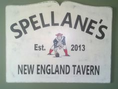 Personalized Tavern Sign with Established Date by MadmorCreations on Etsy https://www.etsy.com/listing/90805434/personalized-tavern-sign-with