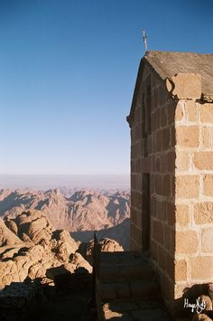 Mt. Sinai, Egypt.  I woke up in a sleeping bag within feet of this building on my 35th birthday.