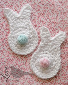 Love The Blue Bird: Crochet Spring Bunny...