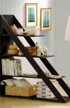 Psinta Modern Shelving Unit // Great Room Divider