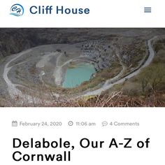 For D on our A-Z of Cornwall we have chosen Delabole. You might not have heard of Delabole but we think it deserves a mention.⁣ ⁣ Delabole is a small village on the North Coast of Cornwall and is most famous for the Slate Quarry! The slate is used in many houses that are all over Cornwall. ⁣ ⁣ There are many walks around the quarry and Delabole that make it the perfect day out. Visit the quarry, head out on a walk or enjoy lunch in the local pub, it's up to you! ⁣ ⁣ Head over to the link in… Cliff House, Local Pubs, The Slate, North Coast, Days Out, Cornwall, The Locals, Walks, Things To Think About
