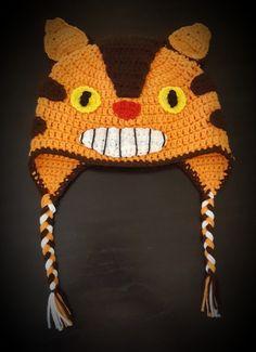 Gorro Catbus a crochet - T: adulto