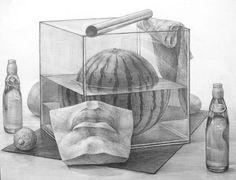 生徒作品 大橋美術研究所・美大受験予備校 Pencil Drawings, Art Drawings, Still Life Drawing, Designs To Draw, Art Projects, Sketches, Animation, Fine Art, Artwork