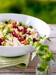 Sie möchten schnell 3 Kilo abnehmen? Das schaffen Sie mit unseren Salaten: Die sind in 25 Minuten fertig, super zum Vorbereiten - und ideal zum Mitnehmen.