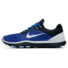 Duke Blue Devils Nike Free Trainer V7 Week Zero Shoes - Royal/White