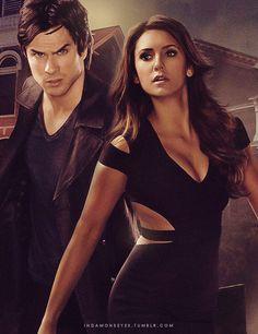 TVD - Damon and Elena