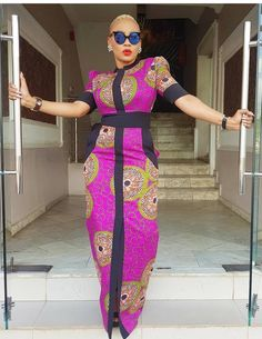 The right picture collection of 2018 latest ankara styles for ladies. Every woman deserves to rock the latest ankara styles of 2018 African Fashion Ankara, African Inspired Fashion, African Print Dresses, African Print Fashion, Ethnic Fashion, African Dress, Mexican Fashion, African Clothes, African Prints