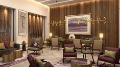 Serenity Club VIP welcome lounge.