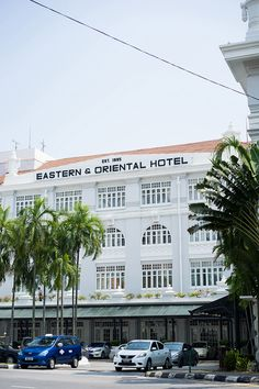 Eastern and Oriental Hotel, Penang, Malaysia // Top Destination Wedding Venues in Malaysia - Part 1