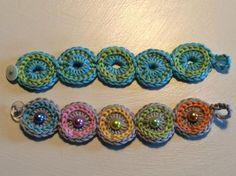 314 Besten Armband Häkeln Bilder Auf Pinterest Yarns Crochet