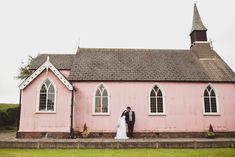 pink church in the English countryside, could it get anymore perfect?