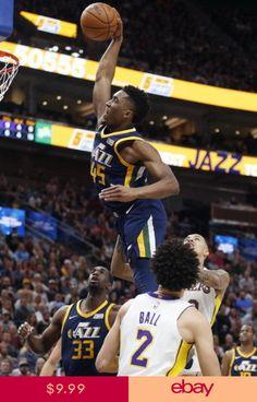 2101b3de8 002 Donovan Mitchell - Utah Jazz NBA Basketball Star 24x35 Poster