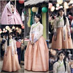 MBC 월화극 '구가의서'에 출연 중인 수지가 단아한 한복 자태를 뽐냈다.