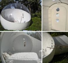 inflatable forest hotel rooms