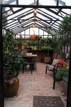 Gardeners turn to mini greenhouse gardening when they need to create a specific microclimate or lack space for a larger. the Mini greenhouse can be used for protected crops such as tomatoes, peppers, cucumbers and aubergines. Cheap Greenhouse, Backyard Greenhouse, Greenhouse Plans, Greenhouse Wedding, Orangerie Extension, Greenhouse Interiors, Glass House, Conservatory, Porches