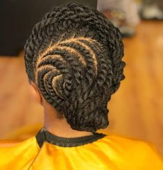 Flat Twist Hairstyles, Flat Twist Updo, Girls Natural Hairstyles, Braided Ponytail Hairstyles, Pretty Hairstyles, Girl Hairstyles, Natural Hair Ponytail, Natural Hair Twists, Natural Hair Styles For Black Women