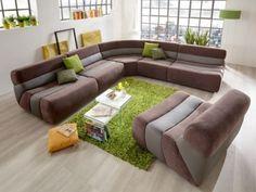 Sit & More - Scout | Ein Sofa, das 'einfach anders' aussieht, ohne dabei den Rest Ihres Wohnraums in den Schatten zu werfen? Das Sofa Scout von Sit & More ist ab sofort Ihr neuer Freund! Dabei ist die Gestaltungsfreiheit riesengroß.Auch Materialmixe sind hier möglich!