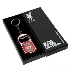 Official Liverpool FC Gifts Car Accessories - Official Liverpool FC Key Ring Torch Bottle Opener - Novelty Football Gift Ideas Keyring With Bottle Opener And Torch FunctionsApprox 7cm X 3.5cmIn A Gift BoxOfficial Licensed Product (Barcode EAN = 5055832345732). http://www.comparestoreprices.co.uk/december-2016-3/official-liverpool-fc-gifts-car-accessories--official-liverpool-fc-key-ring-torch-bottle-opener--novelty-football-gift-ideas.asp