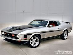 1971 Ford Mustang Mach I in Light Pewter                                                                                                                                                     Más