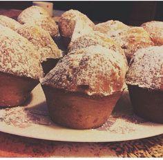 ••• Muffin con farina d'avena, al sapore di limone e gocce di cioccolato. 😍 •••