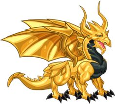 """Gold Dragon. I named mine Britt because my favorite Britt Nicole song is titled """"Gold."""" :D"""