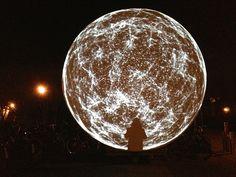 The Sphere Amsterdam (by Clifton Mahangoe, Light-Artist) http://www.cliftonmahangoe.com/