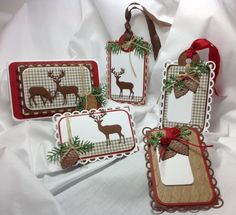 Gift Tags -io Die Challenge by KJA - Cards and Paper Crafts at Splitcoaststampers