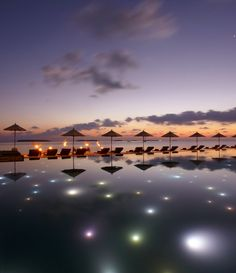 Beautiful Sunset in Baa, Maldives.