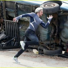 Avengers: Age of Ultron Cosplay Quicksilver Pietro Maximoff Suit Costumes