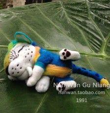 小老虎 羊毛毡 成品 疯狂原始人 动画电影人物 手工DIY 定制