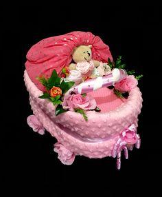 Pram nappy cake
