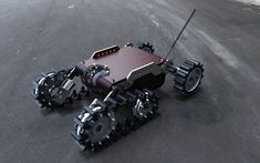 Robotic Tank Unmanned Ground Vehicle v3