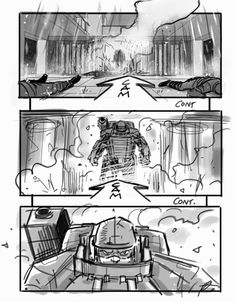 You'll Die for These EDGE OF TOMORROW Storyboards by David Allcock « Film Sketchr
