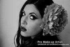 Black & White Photography by Giorgia Di Giorgio  concept make up - Photo/Edit by Giorgia Di Giorgio Gallery (page) http://makeupartistgiorgia.blogspot.it/