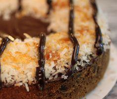Samoa Cookie Cake