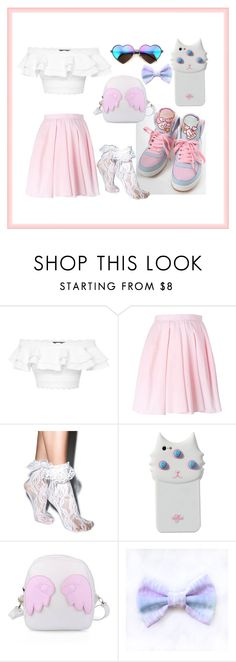 """Untitled #313"" by yuvalbendavid ❤ liked on Polyvore featuring Alexander McQueen, Carven, Leg Avenue, Valfré, Wildfox, cute, sweet, kawaii and japanese"