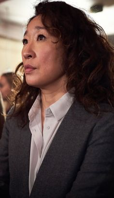 Sandra Oh, Jodie Comer, I Think Of You, Tv Series, Eve, Portrait, Second Love, Men Portrait, Paintings