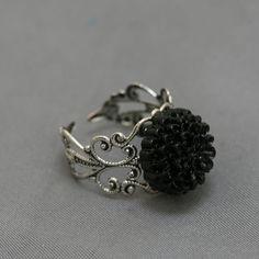 Antique Black Ring