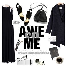 """""""Awe so me"""" by punnky ❤ liked on Polyvore featuring Haute Hippie, 3.1 Phillip Lim, Smythson and Bobbi Brown Cosmetics"""
