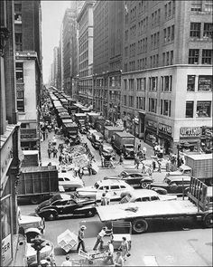 37th Street & 8th Avenue New York City 1948.
