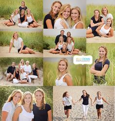 Chatham Lighthouse Beach :: Family portrait photography :: sisters www.kellycronin.com